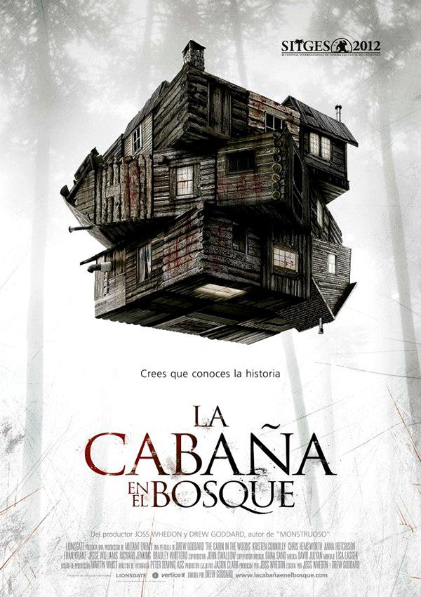 La caba a en el bosque the cabin in the woods homenaje for La cabana divertida